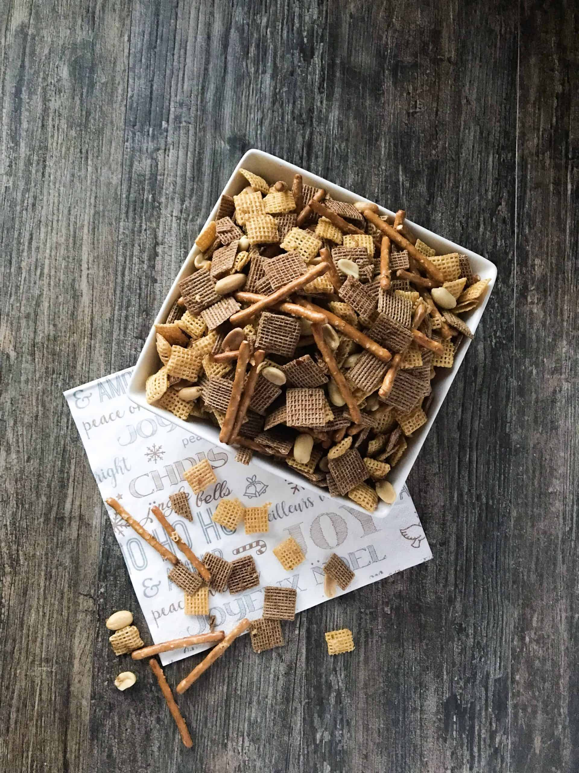 Sweet & Spicy Holiday Chex