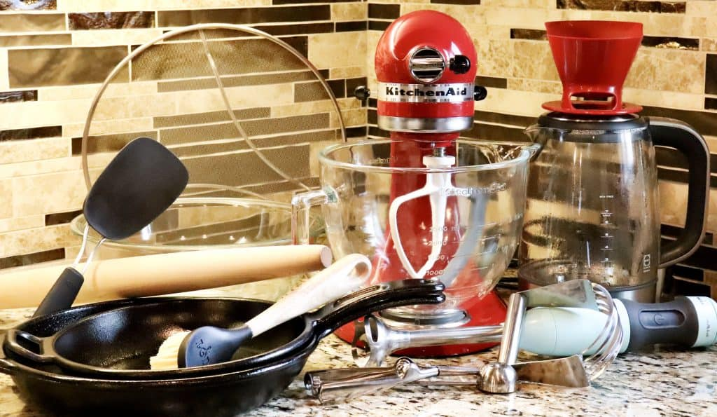 Showing all 11 of my kitchen items