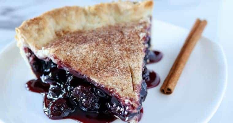 Cherry Rum Pie