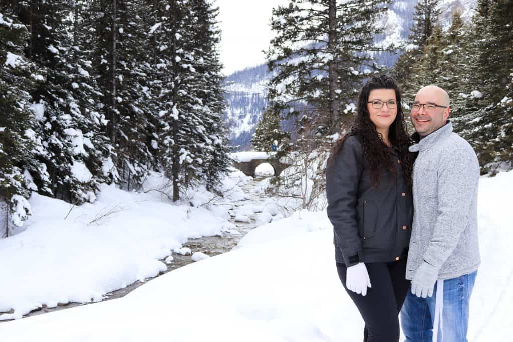 picture of edward and I in lake louise