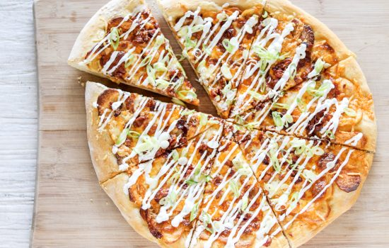 Spicy Pierogi Pizza