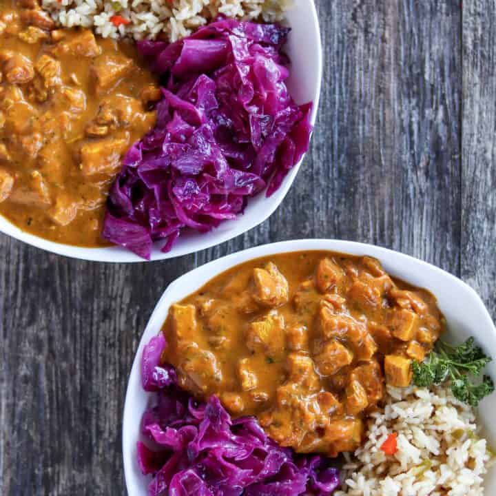 Turmeric Coconut Curry Chicken
