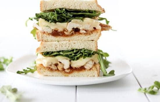 Apricot Brie Chicken Sandwiches