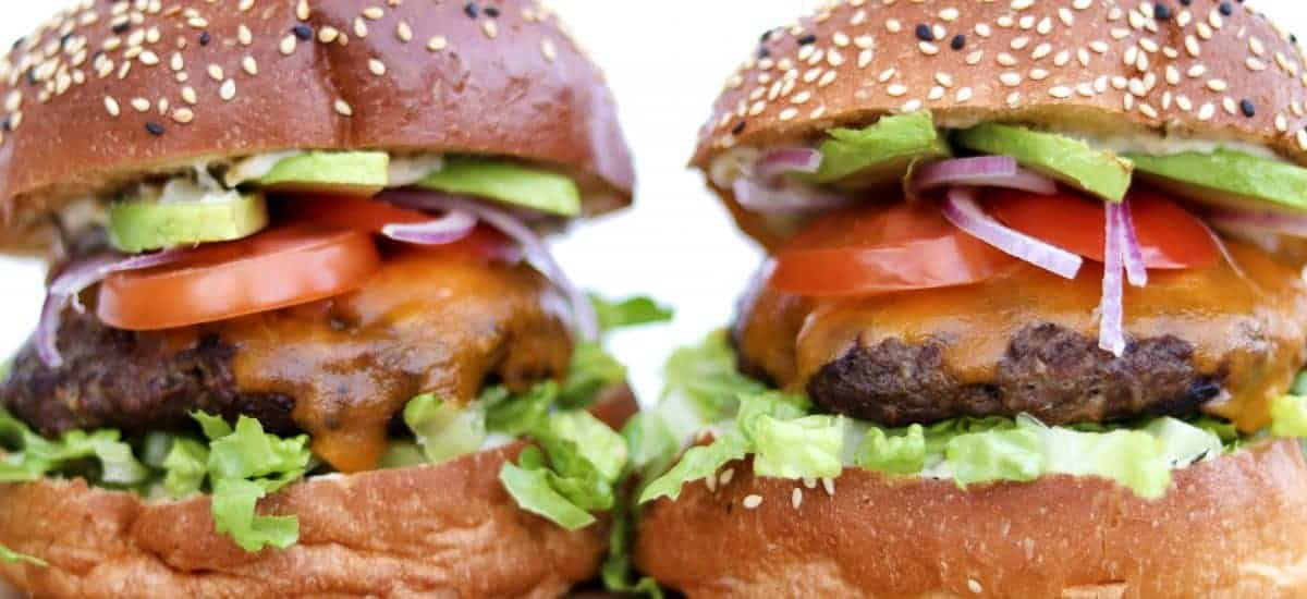 Pure Beef Burgers
