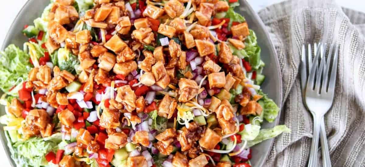 Honey Hot Chicken Salad