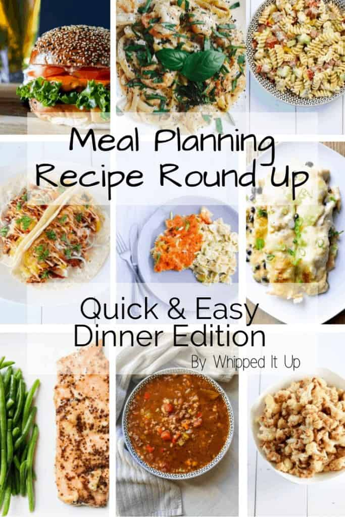 Quick and Easy Dinner Ideas for Meal Planning