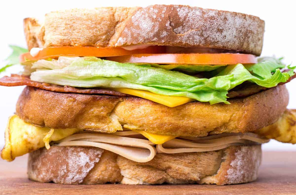Diner Deluxe Clubhouse Sandwich