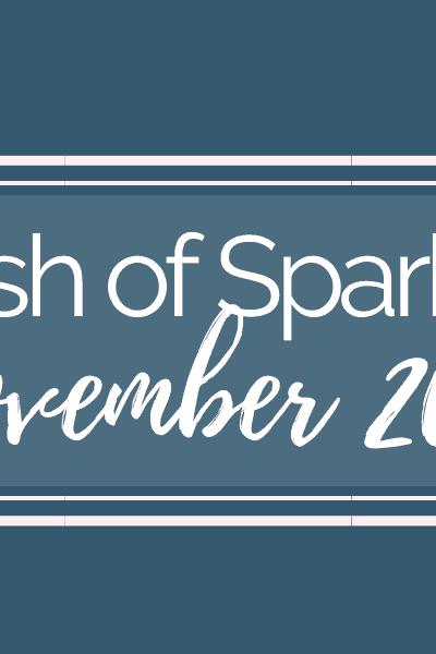 Dash of Sparkle November 2019 banner