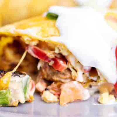 Fully Loaded Breakfast Burritos