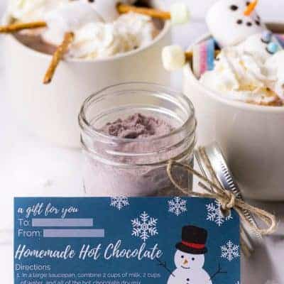 Holiday Hot Chocolate Gift Packages