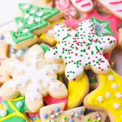Sugar Cookies with Easy Royal Icing