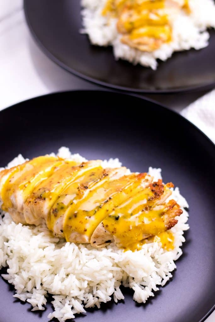Creamy Honey Mustard Chicken Whipped It Up