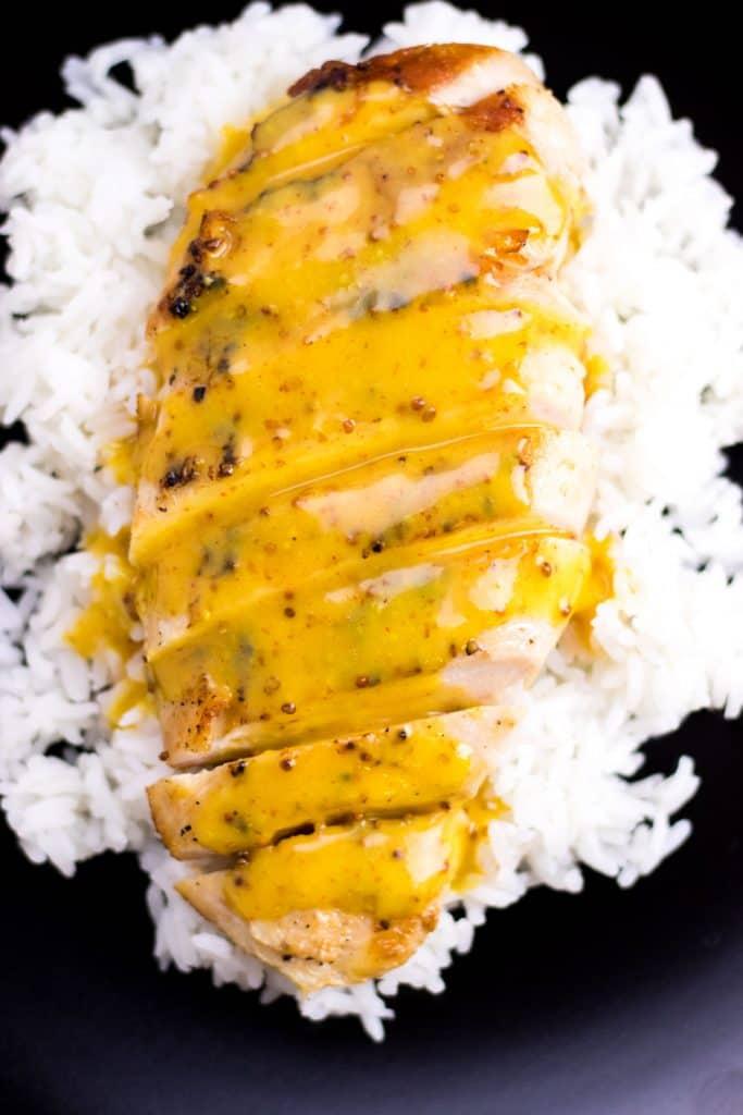 Creamy Honey Mustard Chicken Whipped It Up