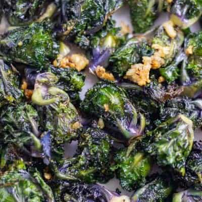 Crispy Roasted Kalettes