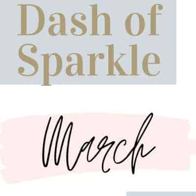 Dash of Sparkle March 2020