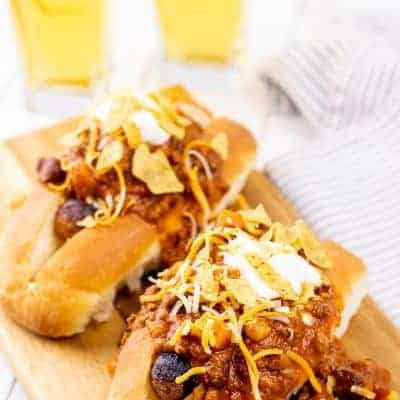 Fully Loaded Chili Dogs