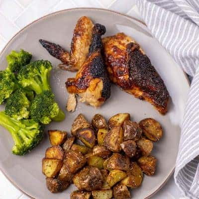 Bourbon Barbecue Roast Chicken