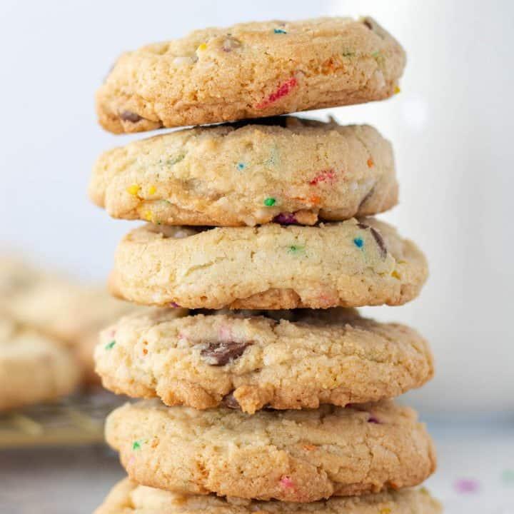 Chocolate Chip Funfetti Cookies