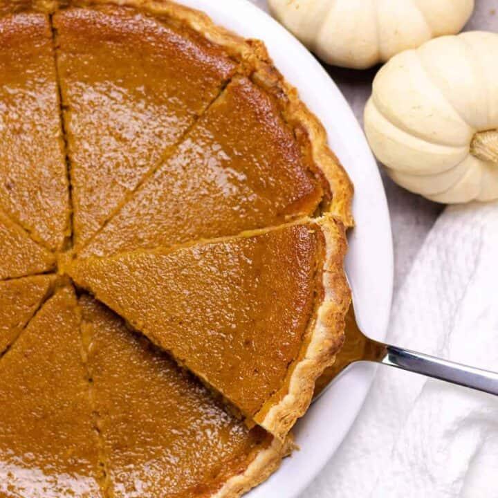 Pumpkin Pie (from Scratch)