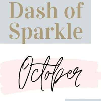 Dash of Sparkle October 2020