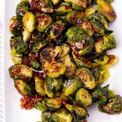 Spicy Bacon Jam Brussel Sprouts