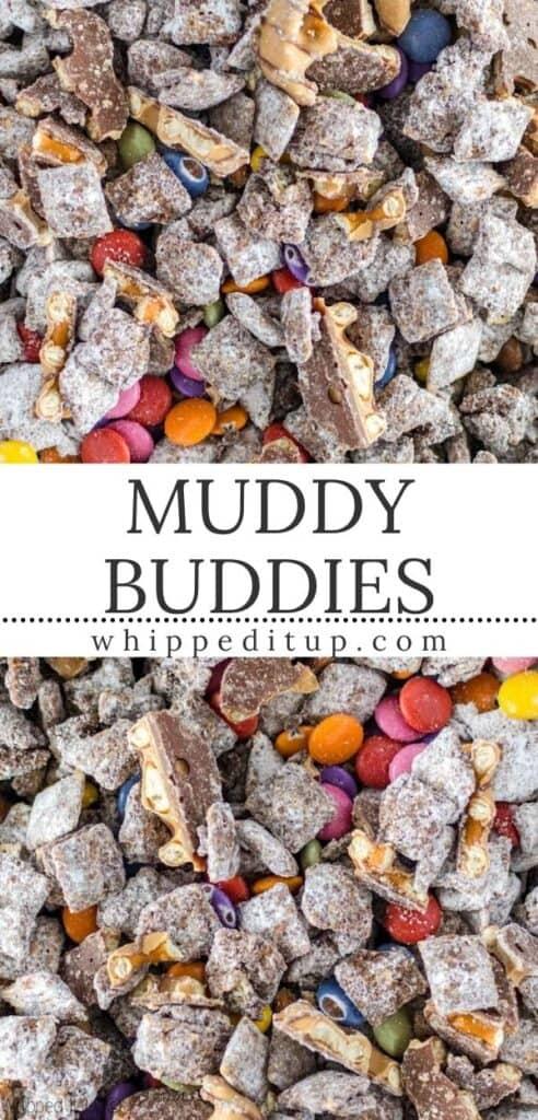 muddy buddies pinterest image